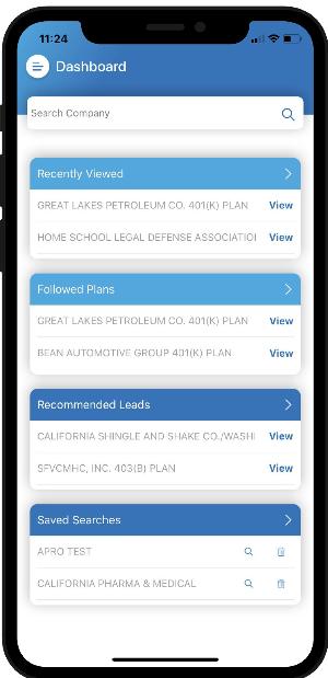 Mobile Prospecting App